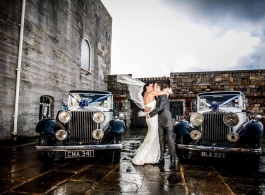 Vintage Rolls Royce for weddings in Southampton